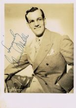 Glenn Miller Autograph Signed Photo
